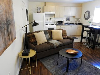 Single Track - 1 bedroom nestled between the estuary & the downtown core.