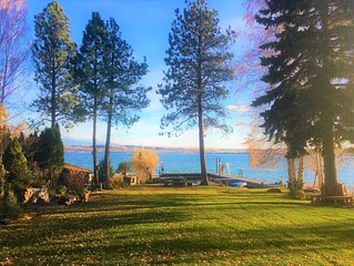 SPECTACULAR FLATHEAD LAKE RETREAT!