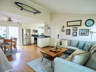 Steps to the Ocean Spacious, Luxury-Rent April & May ask for discount!