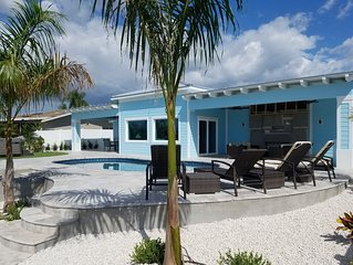NEW High End Keys Style - Private Resort - Huge Dock, Pool, Spa, Fire Pit + More