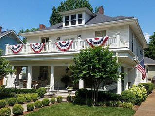 100 year old home five blocks from Historic Downtown Franklin, TN