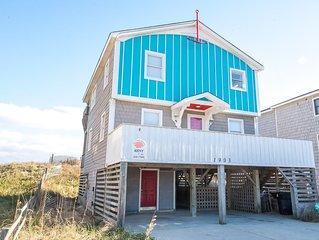 K0064 Jolly Roger. Oceanfront, Pet OK, Great Location,  Free WiFi!