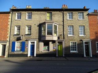 Stylish Georgian Town House in the heart of Salisbury