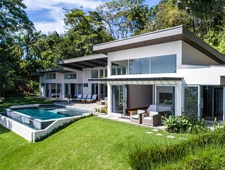 New Tropical Modern Masterpiece w/ Jaw Dropping Views