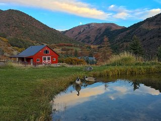 Beautiful views. Mountain setting. Newly finished, private, barn apartment.
