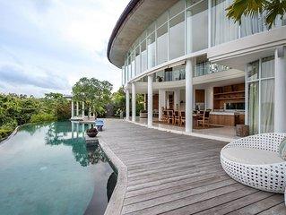 Pancaloka, Luxury 3 Bedroom Villa Chef,Driver+Car, Jimbaran