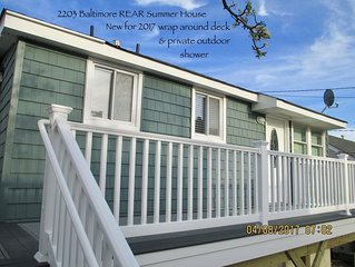 LAVALLETTE New House/Deck/Out-shower, C-A/C, Wifi, Badges, Granite Kitchen