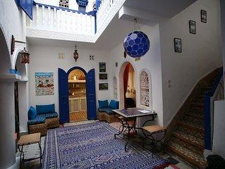 Riad Terre d'Azur, bienvenue chez vous! charme et confort au coeur de la Médina