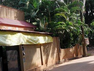 Saudades Beach Bungalow - Spacious Private Beach Villa in Candolim,  North Goa.