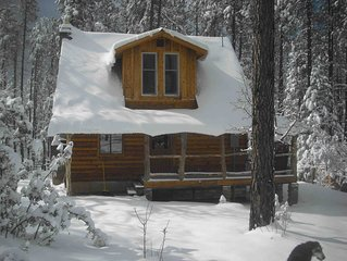 Very Private Horse Friendly Dog Friendly Cabin in the Pines