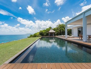 Amazing Views of the Caribbean Sea and the Sunset, Heated Pool, Alfresco Dining,