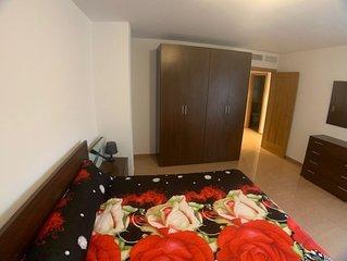 Apartamento con wifi, aire acondicionado y garage: Bilbilis