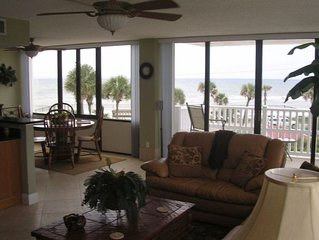 Flagler Beach Oceanfront Condo Fully Updated