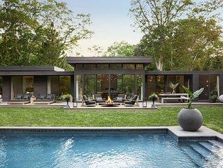 Modernist 4 Br Home - Impeccably Designed Published In Elle Decor - Amagansett