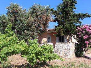 Ruhig und idyllisch gelegenes Ferienhaus, Meerblick | Messenien, Peloponnes