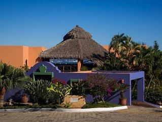 Charming 4BR La Punta Villa overlooking Manzanillo Bay with infinity pool