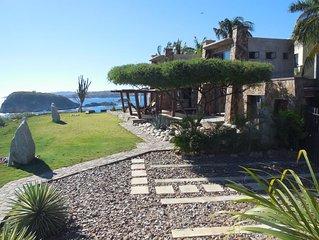5 star Oceanfront Brand new Villa - see our youtube walkthrough video below!