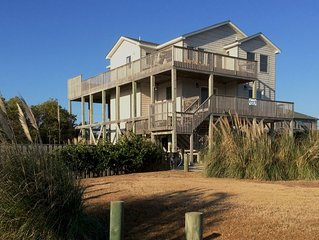 ***S. Nags Head Semi-Oceanfront: Large Pool, Hot Tub, Game Room, NEW KITCHEN***