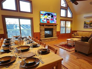 Boulderview Lodge, Lake Harmony's Newest, Most Luxurious Home with the best View