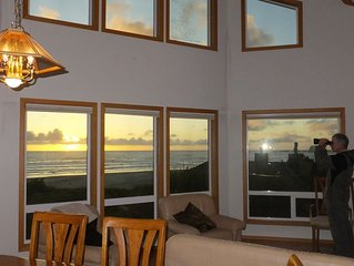 Pacific Panorama - Sweeping ocean views from this lovely 5 bedroom + loft home