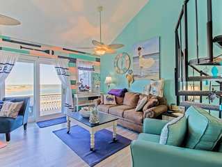 Beautifully Remodeled Condo Atlantic Ocean in front and Pamlico Sound in back.
