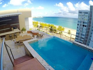 3BR in Boutique Condo 30 meters from one of the World's Top City Beaches