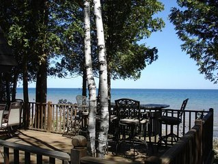 Beautiful, Direct Lake Michigan Frontage, 1300 sq ft home