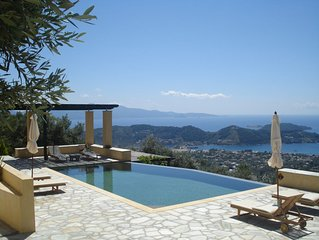 Stunning Views Of The Aegean Sea, Set In Olive Grove -  EKT 0756K************