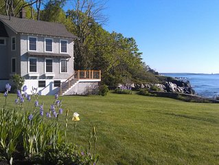 Oceanfront Cottage with Spectacular Views of Casco Bay
