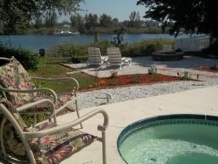 Waterfront with Heated Pool and Canoe!!