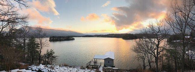 ¡Nieve en la montaña Smith!