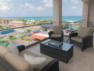 OCEAN GEM- Brand new condo in award-winning Eagle Beach.