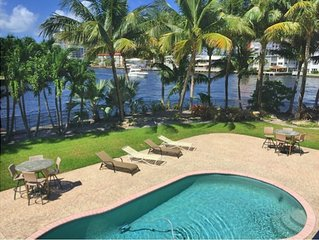 BREATHTAKING INTRACOASTAL POINT PROPERTY. DISCOUNTED SEASONAL RATES!