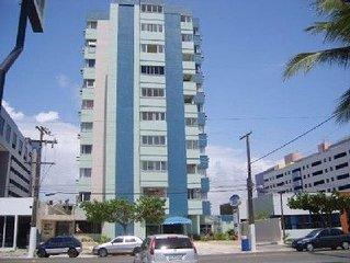 Ed. Ana Maria - 2 quartos - Beira Mar da Praia de Pajucara -  Garagem
