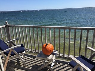 West End Waterfront 1BR Top Floor Condo Front Row Harbor Views with Central A/C