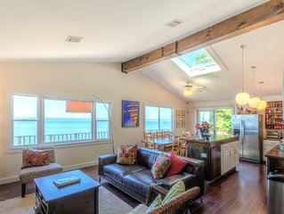 Waterfront Beach House - Amazing Water Views, Natural & Calm, Wineries & Farms