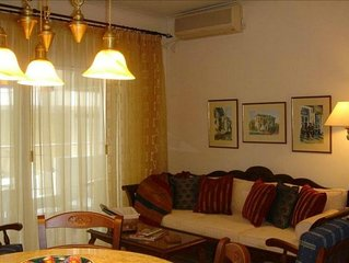 Heart of Athens Luxury Condo-Free Wifi-Walk to Ancient Sites!