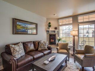 River's Echo Downtown Leavenworth Condo Vacation Rental, Mountain View for 6
