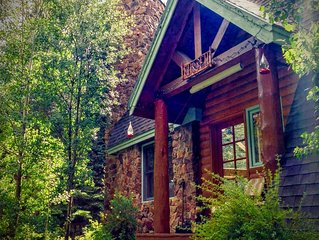 A River Front Mountain Luxury Cabin - Colorado's Best Relaxing, Skiing, Rafting