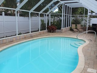Home away from Home? Paradise in the Sun? Why not call it both! HEATED Pool !