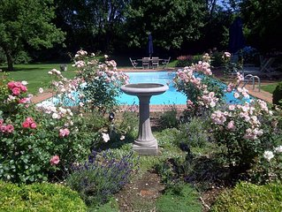 Family-friendly, Heated Pool, Tennis Ct, Spacious Grounds, Nr Beautiful Beaches