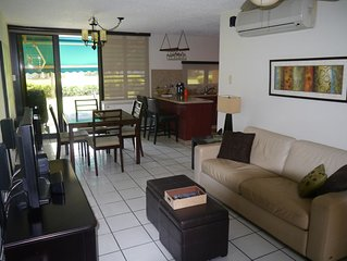 Lovely and Truly Beach Front Condo Unit-Ready for Rental Season