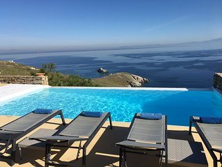 Luxury Villa Private Infinity Pool, Breathtaking Views, Calm