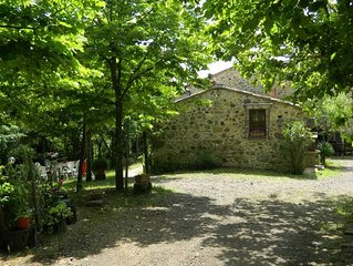 Casciano Di Murlo: Maison avec jardin