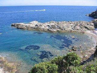 Isola D Elba Capo D Arco: Isola d' Elba - Villa sul promontorio tra fiori e prof