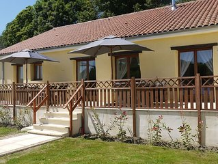 Large, Spacious, Single Level Gite With Private Pool And Stunning Country Views