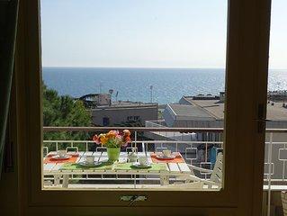 Appartamento completa vista mare Sanremo