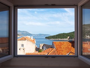 Apartment Lobrovic: Best panaromic sea view, in centre of Old City of Dubrovnik