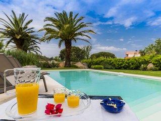 Villa Eva Baia Sardinia Wonderful Garden with Private Pool