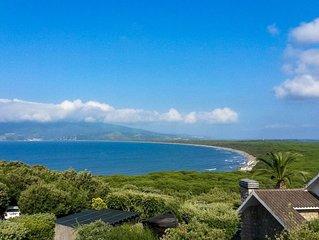 Great sea views short walk to beach private pool family villa